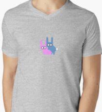 Bunny Love Men's V-Neck T-Shirt