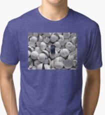 Bowl of TARDIS Tri-blend T-Shirt
