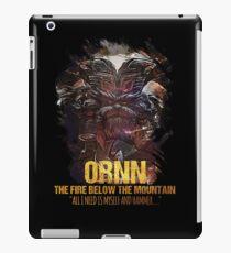 League of Legends ORNN - The Fire Below The Mountain iPad Case/Skin