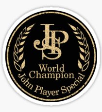 John Player Special Racing - World Champions  Sticker