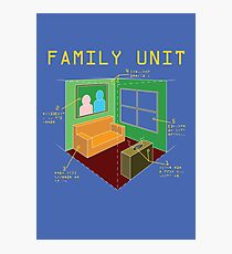 Family Unit Photographic Print