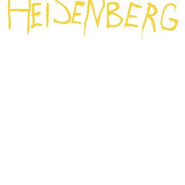 Heisenberg Spray Paint - Breaking Bad by LukeSimms