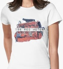 186 RED MOTOR Women's Fitted T-Shirt