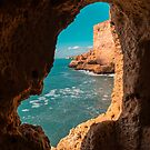 Mother Natures Art - Fantabulous Rock Window With a View by Georgia Mizuleva