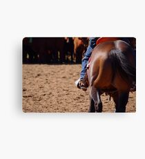 Simplistic stockwork Canvas Print