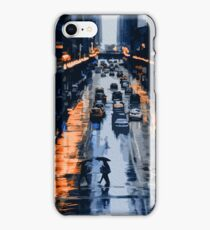 On the streets of New York City iPhone Case/Skin