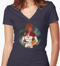 Pathfinder, I've found something! Women's Fitted V-Neck T-Shirt
