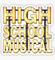 High School Musical Sticker
