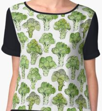 Broccoli - Formal Women's Chiffon Top