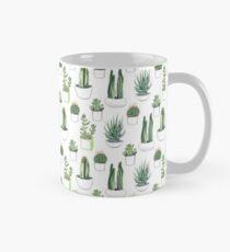 Watercolour cacti & succulents Classic Mug