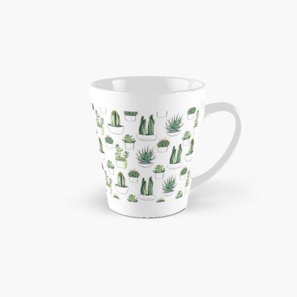Watercolour cacti & succulents Tall Mug