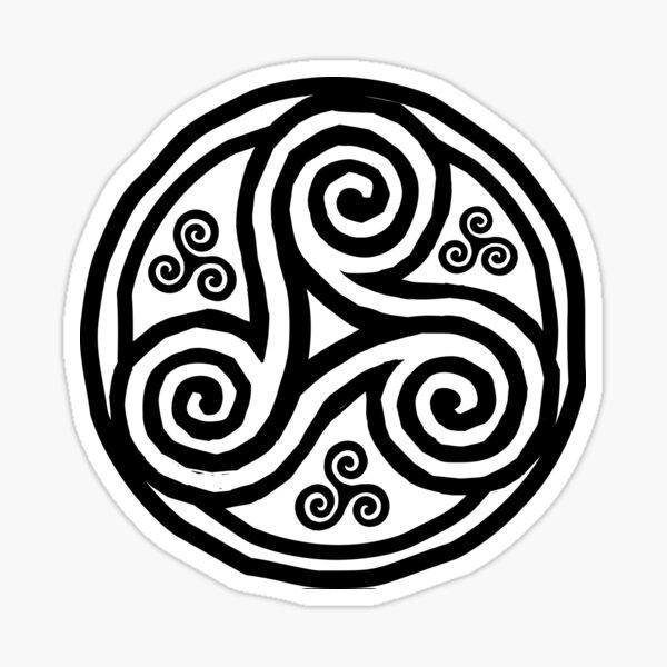 Triskels bretons Sticker