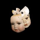Little Broken Dolly Face - Halloween VI by Shelly Still