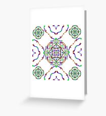 Parterres Greeting Card