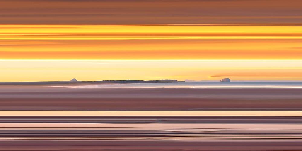 Belhaven Bay Sunset, Dunbar by bluefinart