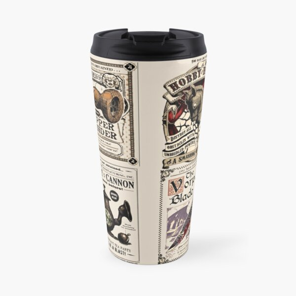 Weapons Cards- Alice Madness Returns Travel Mug