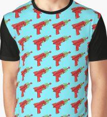 Sci-Fi Ray Gun Graphic T-Shirt