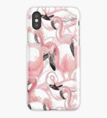All the Flamingos - Pattern iPhone Case