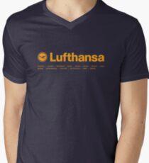 Lufthansa Men's V-Neck T-Shirt