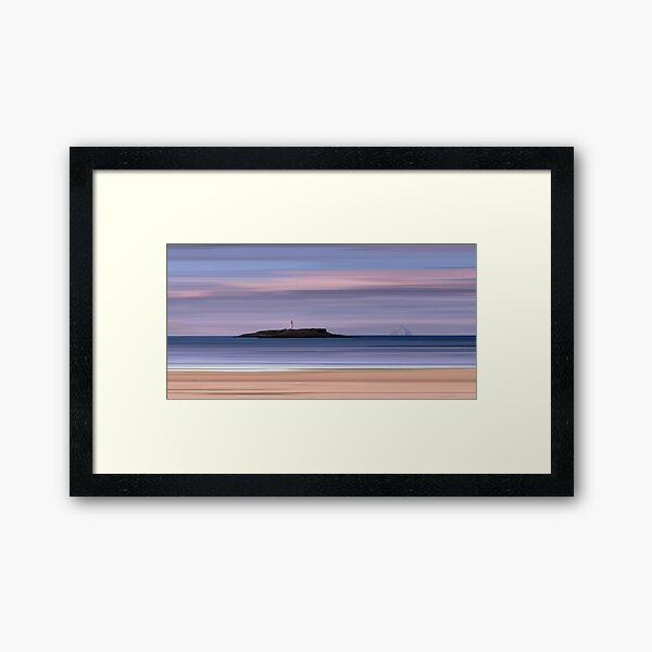 Kildonan Beach Dawn, Isle of Arran Framed Art Print