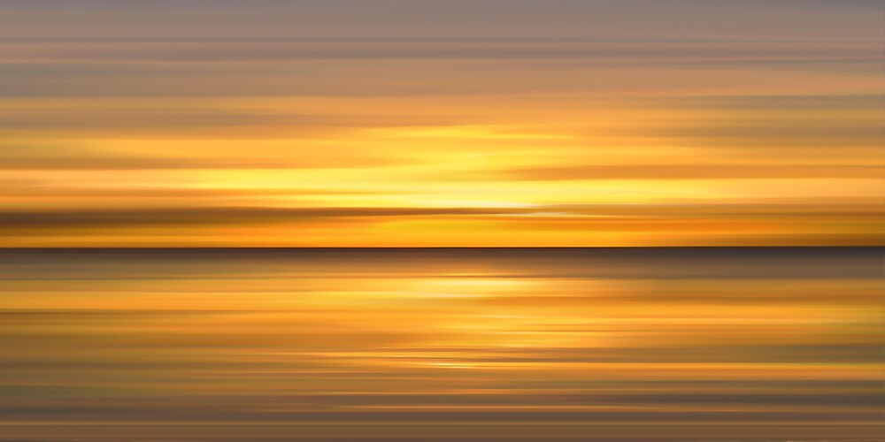 Golden Seas by bluefinart