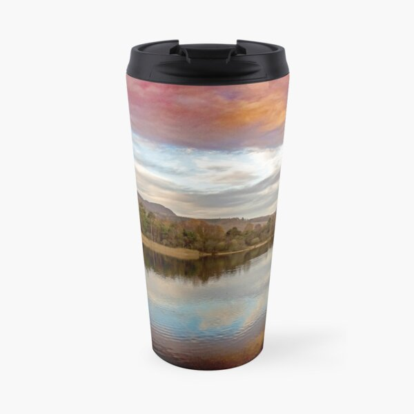 Loch of the Lowes cloudscape Travel Mug