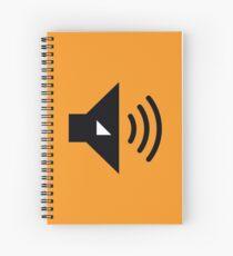The Volume Button - Wolves Fancast Spiral Notebook