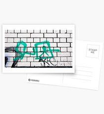 Friday Street Graffiti 20 Postcards