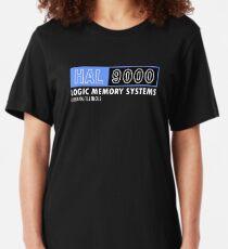 HAL 9000 - 2001: A Space Odyssey - Kubrick/Arthur C. Clark Slim Fit T-Shirt