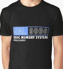HAL 9000 - 2001: A Space Odyssey - Kubrick/Arthur C. Clark Graphic T-Shirt