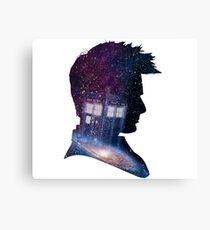 Tenth Doctor Canvas Print
