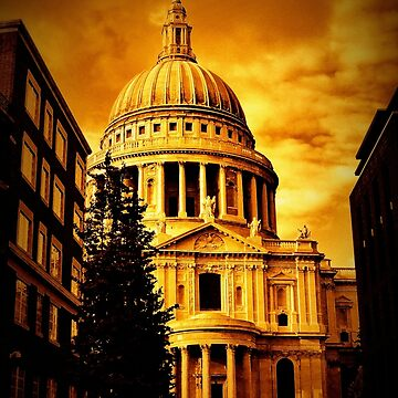 A Golden Path (St. Pauls Cathedral) by pauljamesfarr
