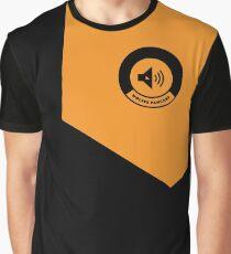 Golden square logo Graphic T-Shirt