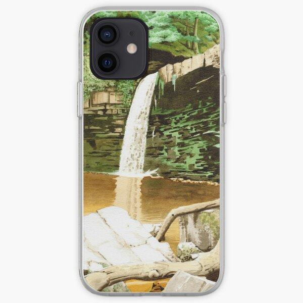 Ystradfellte Waterfalls, Wales iPhone Soft Case