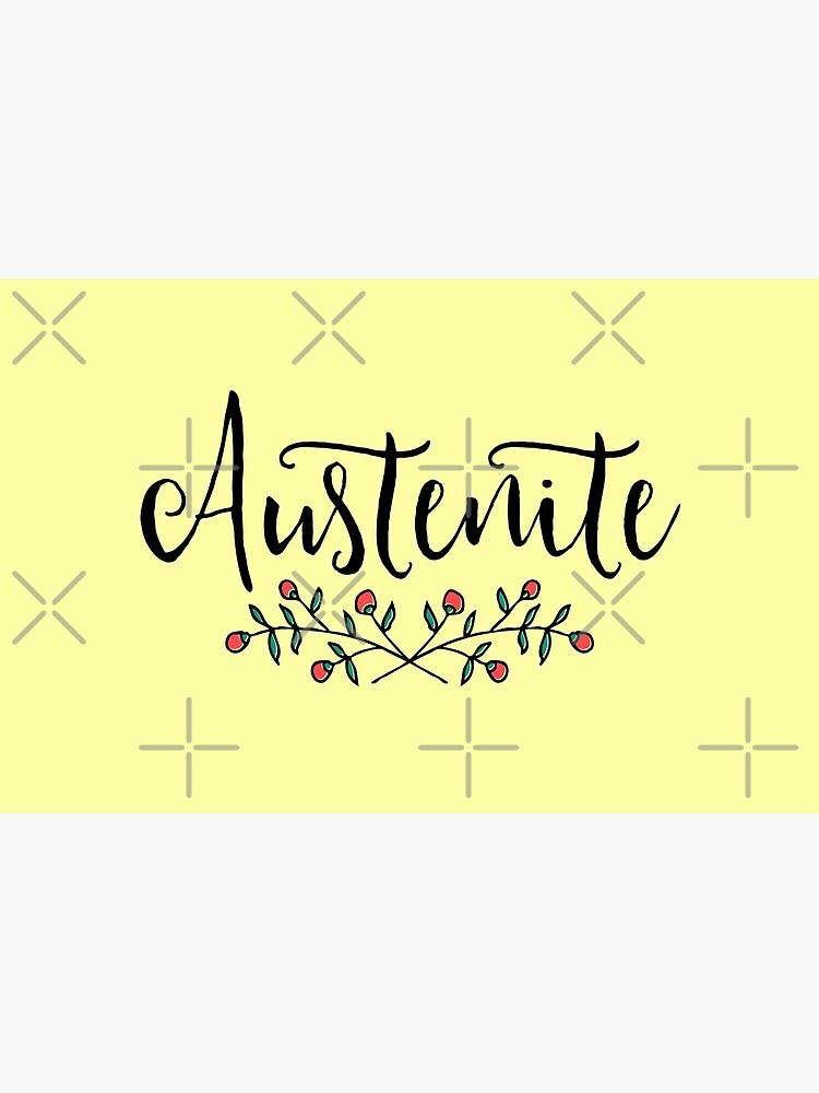Jane Austen Floral Austenite by bookishwonder