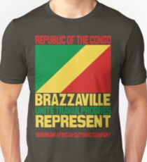 Brazzaville Congo represent Unisex T-Shirt