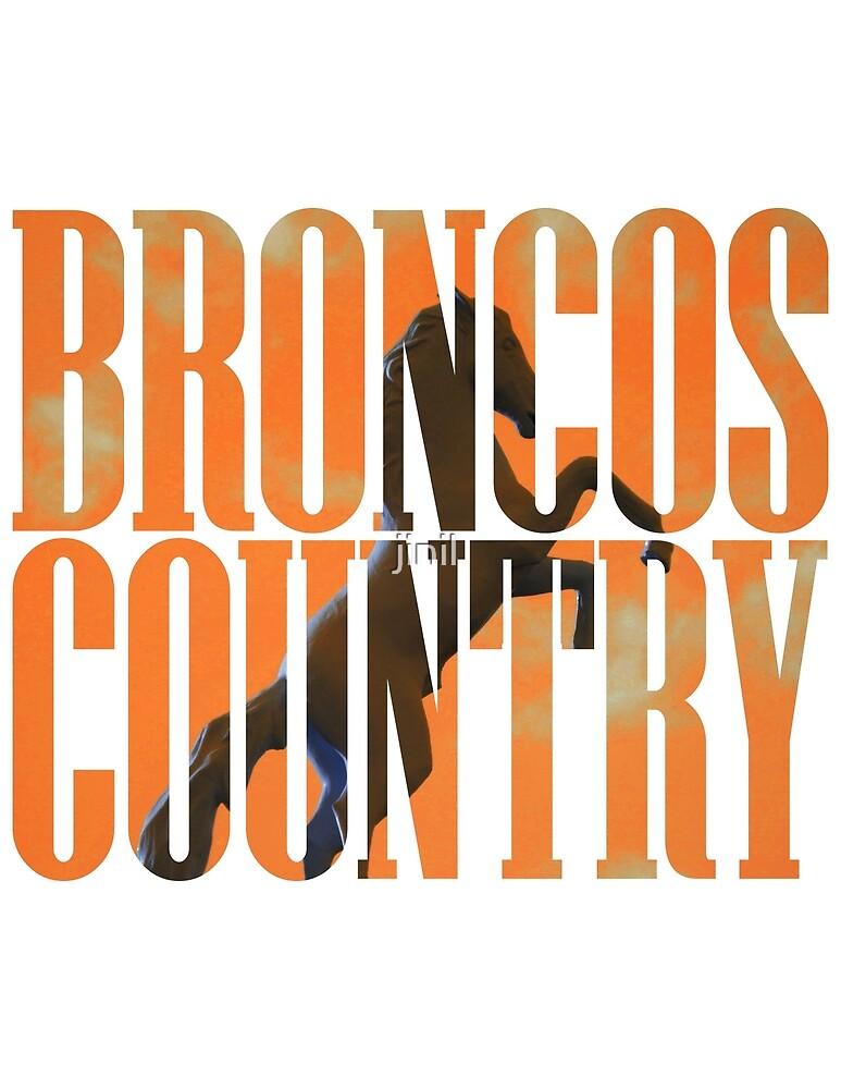 Broncos Country Miles Orange by jinil