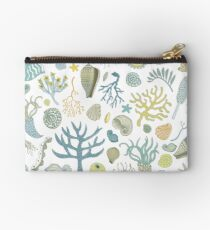 Natural Forms - nautical pattern by Cecca Designs Studio Pouch