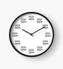 High Noon Clock Clock