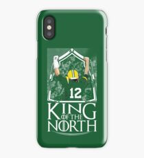 Aaron Rodgers King Of The North Green Bay Packers Football Shirt iPhone Case/Skin