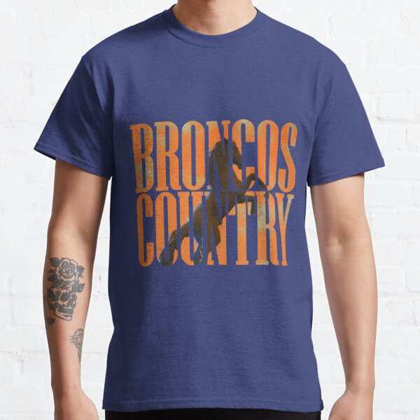 Broncos Country Miles Orange Classic T-Shirt
