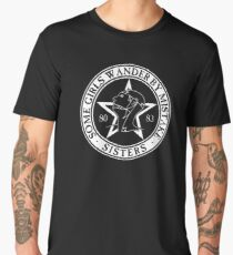 The Sisters of Mercy - The World's End - Some Girls Wander by Mistake Men's Premium T-Shirt
