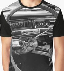 1961 cadillac - de ville, cockpit detail Graphic T-Shirt