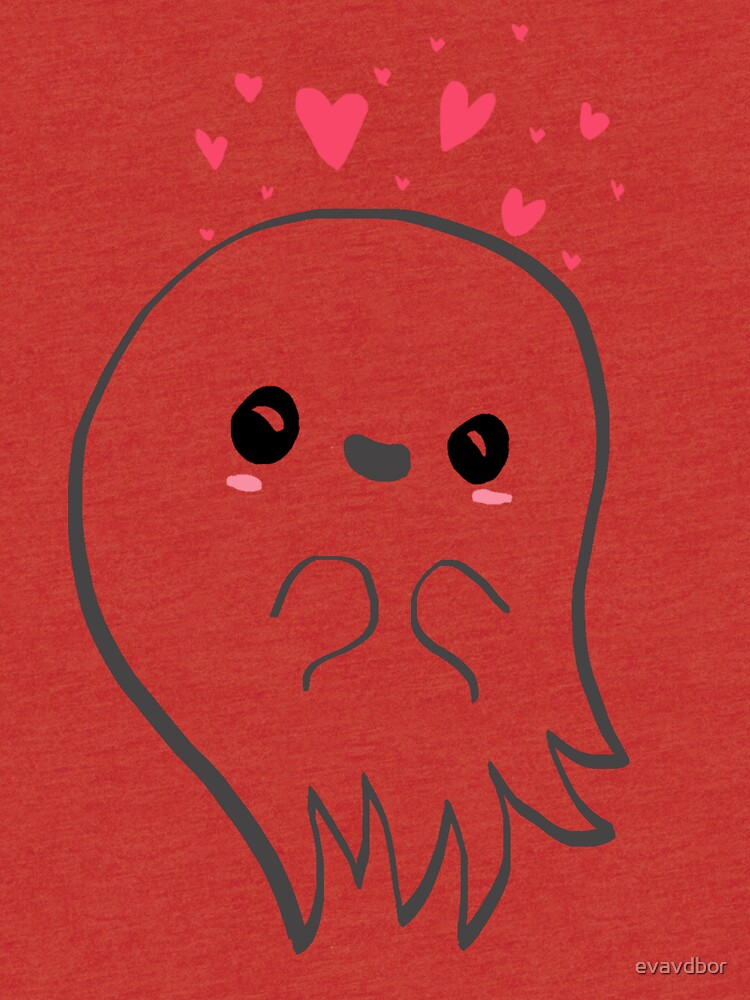 Cute ghost in love by JollyJungle