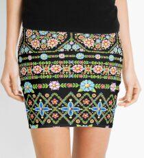 Millefiori Folkloric Stripe Mini Skirt