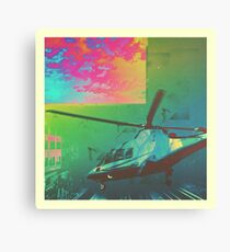 Helicopter Rush Canvas Print
