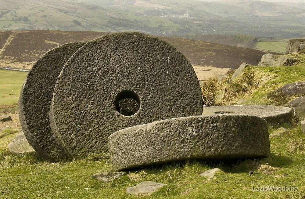 Stanage Edge Millstones by LazloWoodbine