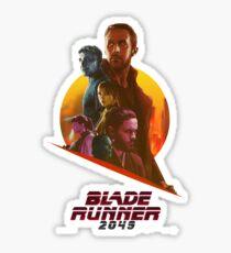 blade runner 2049 - Bigger than you Sticker