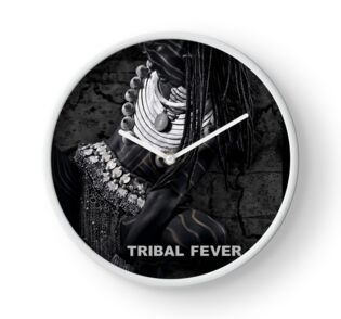 Tribal Fever - Clock by Glen Allison