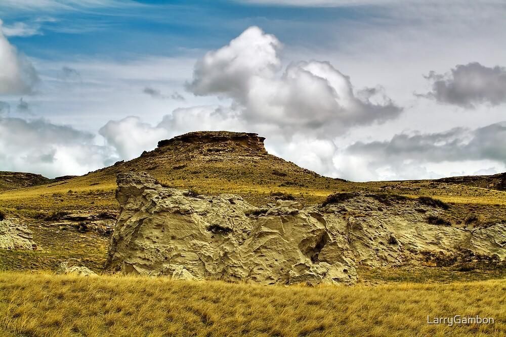 Clouds in South Dakota by LarryGambon
